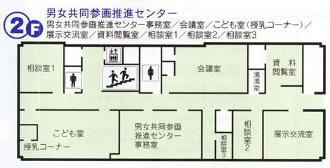 2階:男女共同参画推進センター