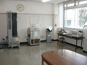 印刷作業室